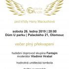 Společenský večer Galerie Anděl_plakát