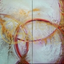 Andrea Ehret - diptych 140x100 cm