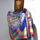 Hedvábný šátek - 682x1024