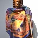 Hedvábný šátek - 636x1024