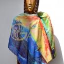 Hedvábný šátek - 677x1024
