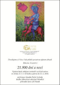 Výstava obrazů - Milan Valenta, 21.900 dní a nocí