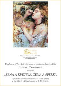 Pozvánka - Světlana Žalmánková - Žena a květina, žena a šperk