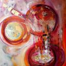 Andrea Ehret - 100x100 cm